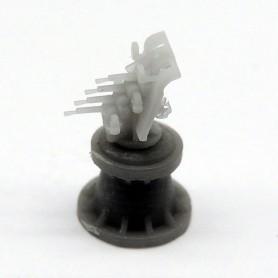 """Mitrailleuse Vickers 0.50"""" sur affût quadruple Mk.I avec bouclier (x10)"""