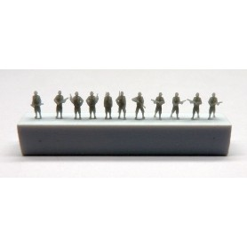 Soldats USA 2ème Guerre Mondiale  (x55)