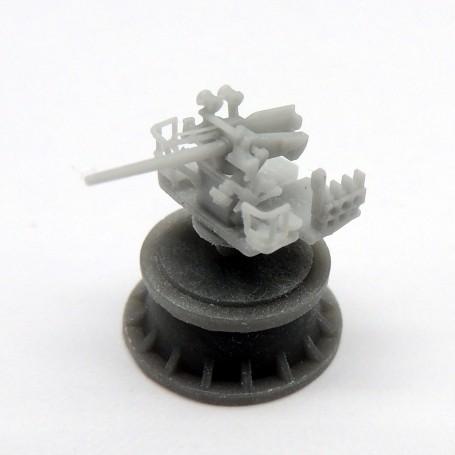5in./25 Mk.19 gun on platform (x4)