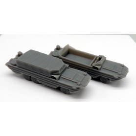 DUKW amphibious trucks (x4)