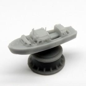 Royal Navy 25ft fast motor boat (x2)
