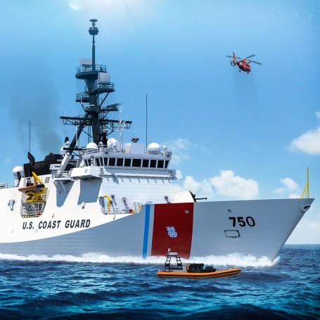 USCGC Bertholf WMSL-750 1/350 waterline