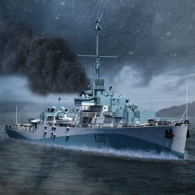 1/400 River class frigate