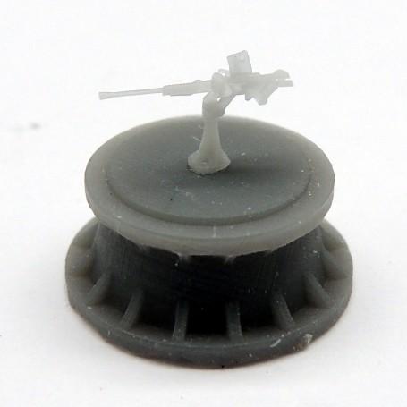 IJN 25mm type 96 single mount AA gun (x9)