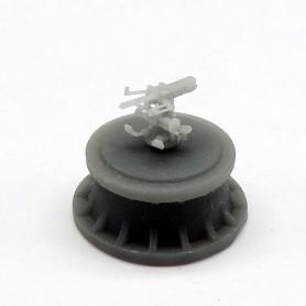 IJN 40mm/62 type 91 HI AA gun (x6)