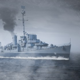 Cannon class Destroyer Escort French Navy 1/350