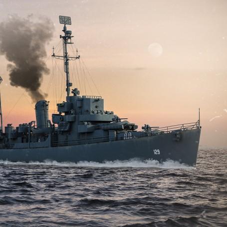 Edsall class Destroyer 1/350