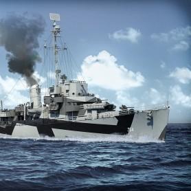 Destroyer Escort classe Cannon version quatre Bofors