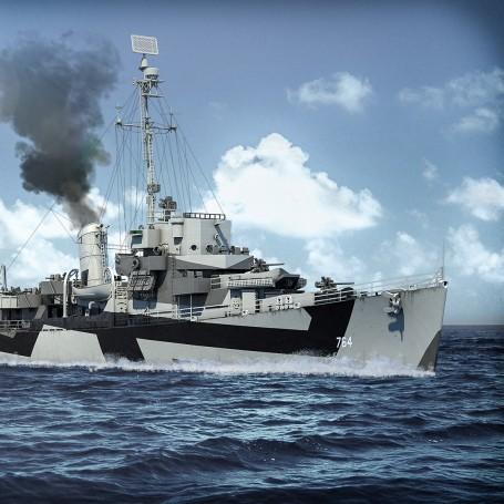 Destroyer Escort classe Cannon version quatre Bofors 1/350