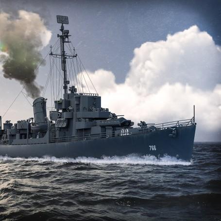 Cannon class Destroyer Escort USS Slater version