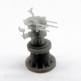 2cm FLAK C 38 vierling mount (x4)