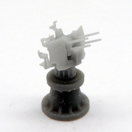 2cm FLAK C 38 vierling mount with shield (x4)