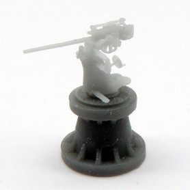 3.7cm FLAK SK C30U gun U-boat version (x6)