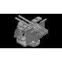 3.7cm FLAK SK C30 twin on Dopp mount with shield (x4)