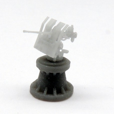 3.7cm FLAK LM 42 single mount with shield (x4)