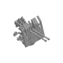3.7cm FLAK LM 42 twin mount with shield (x4)