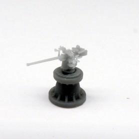 Canon de 8,8cm simple SK C/35 sur affût Ubts C/35  (x4)