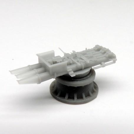Tubes lance-torpilles de 533mm triples sans abri (x2)