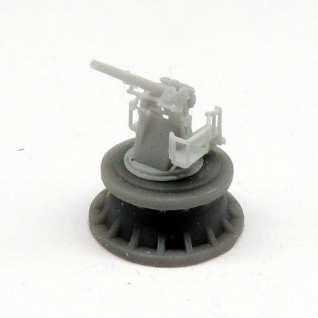 Canon de 4in. QF Mk.V sur affût Mk.III (x4)