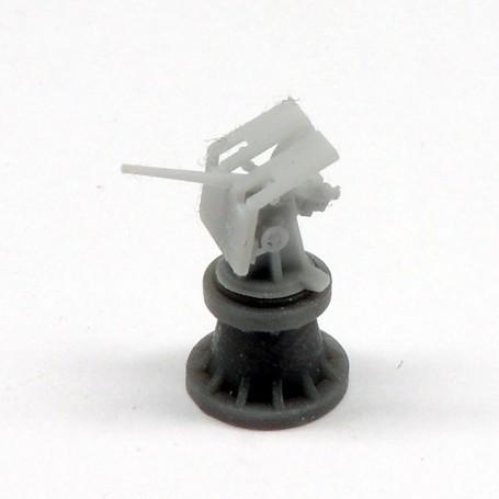 Canon de 12pdr. 12cwt sur affût HA/LA Mk.IX (x4)