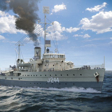 HMAS Castlemaine - Bathurst class corvette