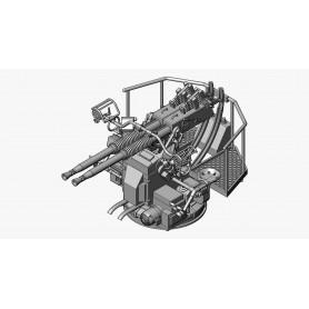 40mm Bofors twin gun