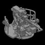 """Mk.34 3"""" automatic single gun (x2)"""