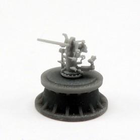 3in./50 Mk.22 gun (x4)