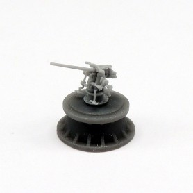 3in./50 Mk.11 gun (x4)