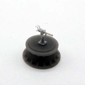 Mitrailleuse de 12,7mm à refroidissement par eau (x12)