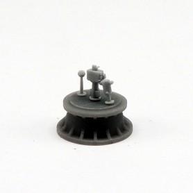 Pelorus (x6), binnacle (x4) torpedo director (x4)
